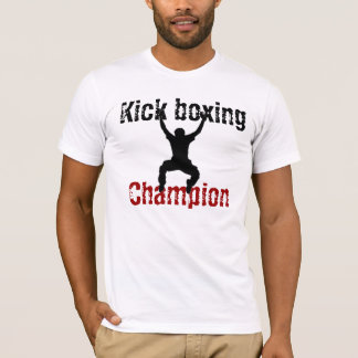 Kickboxing champion t-shirt