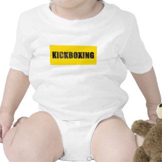 Kickboxing Chiseled Text Shirts