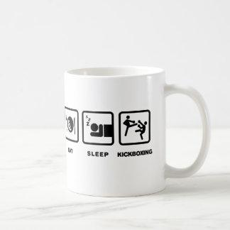 Kickboxing Classic White Coffee Mug