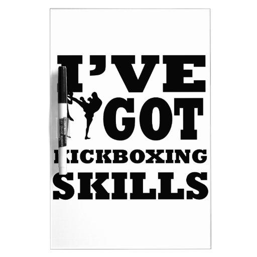 Kickboxing designs Dry-Erase whiteboard