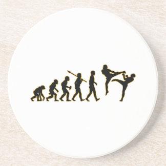 Kickboxing Drink Coaster