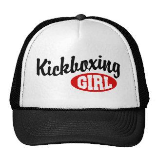 Kickboxing Girl Trucker Hat