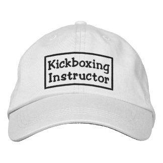 Kickboxing Instructor Embroidered Hat