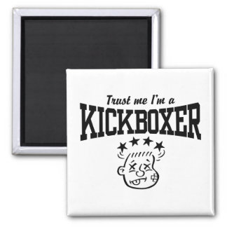 Kickboxing Magnet
