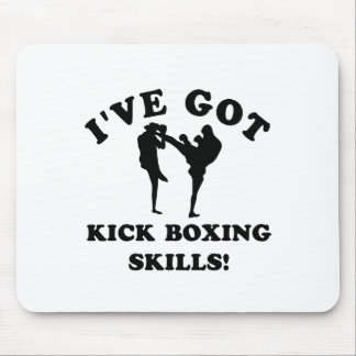 kickboxing skill gift items mouse pad
