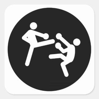 Kickboxing Stickers