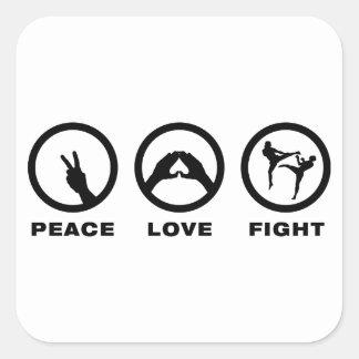 Kickboxing Sticker