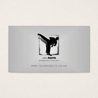 Kickboxing Teacher Business Card