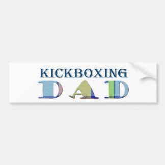 KickboxingDad Bumper Sticker