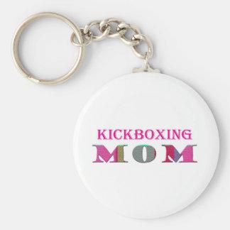 KickboxingMom Basic Round Button Keychain