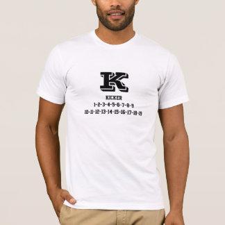 Kicker jersey numbers Tee-shirt T-Shirt