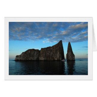Kicker Rock, Galapagos Card