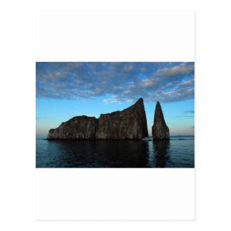 Kicker Rock, Galapagos Postcard