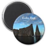 Kicker Rock, Galapagos Refrigerator Magnets