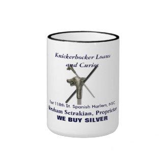 Kickerbocker Loans Ringer Coffee Mug
