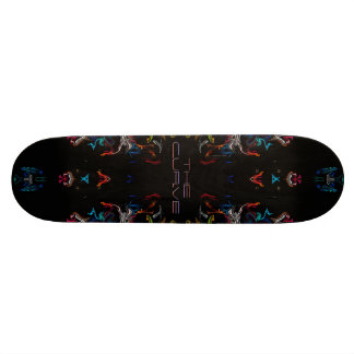 KiCKfLiP CoLLecTioN-The Curve Skate Board Deck