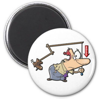 Kickin' Butt 2 Inch Round Magnet