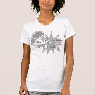 Kickin Cancer's Ass Lung Cancer T-Shirt