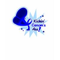 Kickin Cancer's Ass Rectal Cancer shirt