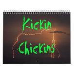 Kickin Chickins Calander Calendarios De Pared