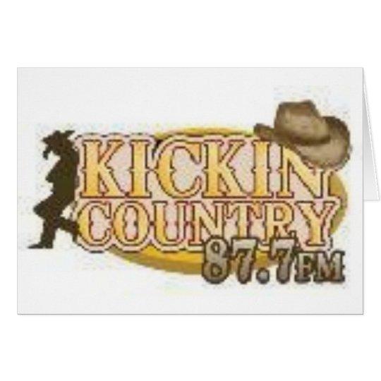 Kickin Country Card
