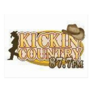 Kickin Country Postcard