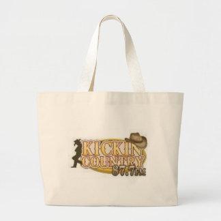 Kickin Country Tote Bags