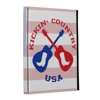 Kickin' Country USA iPad Case