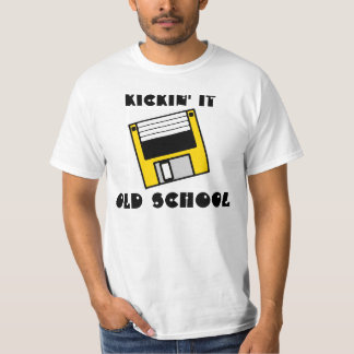 Kickin él camisa del disco blando del amarillo de