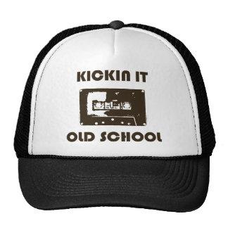 Kickin él escuela vieja gorras de camionero