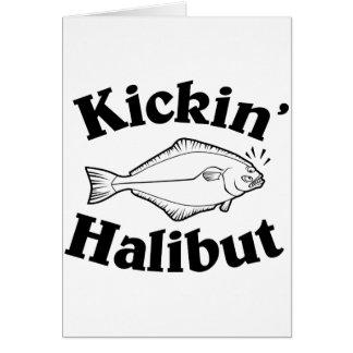 Kickin' Halibut Card
