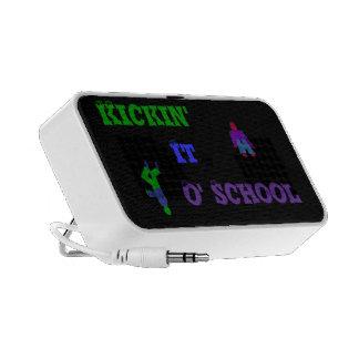 kickin it o' school doodle speakers