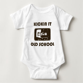 Kickin It Old School Baby Bodysuit