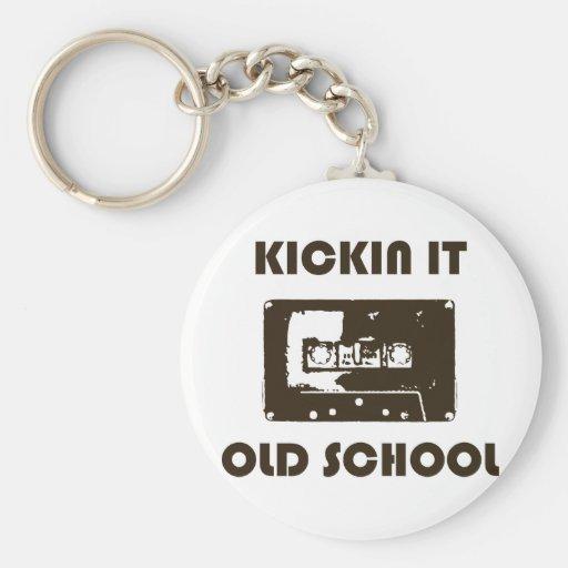 Kickin It Old School Keychains