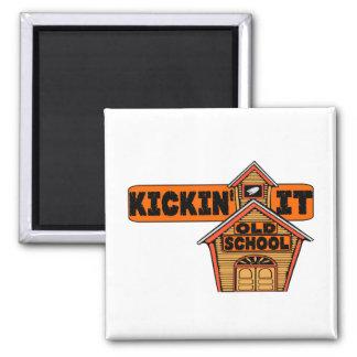 Kickin It Old School Magnet