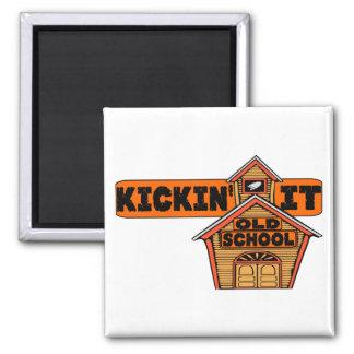 Kickin' It Old School Refrigerator Magnets