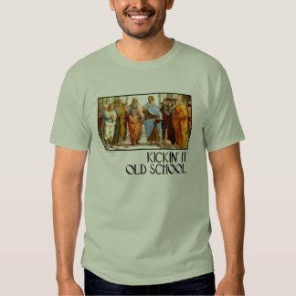 Kickin' it Old School (of Athens) Tee Shirt