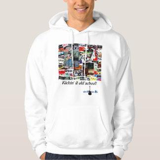 """Kickin' it old school"" sweatshirt"