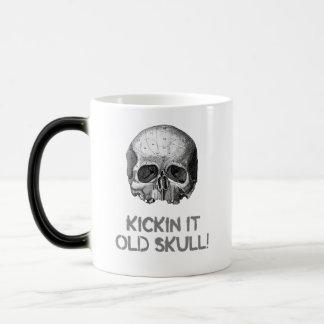 Kickin it Old Skull Magic Mug