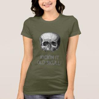Kickin it Old Skull T-Shirt