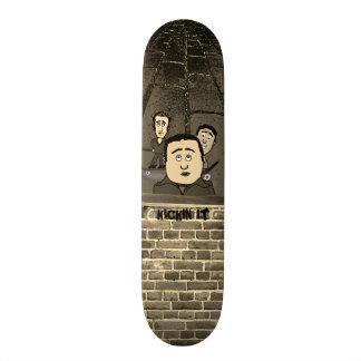 Kickin It Skater Buds Cartoon Skateboard