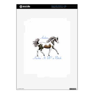 Kickin Up Decal For iPad 2