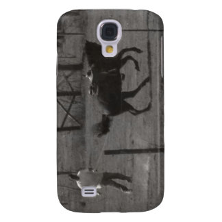 Kickin Up Dirt by Leslie Peppers Samsung Galaxy S4 Cases