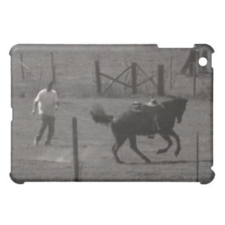 Kickin Up Dirt by Leslie Peppers iPad Mini Cover