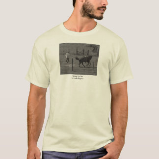 Kickin Up Dirt by Leslie Peppers T-Shirt