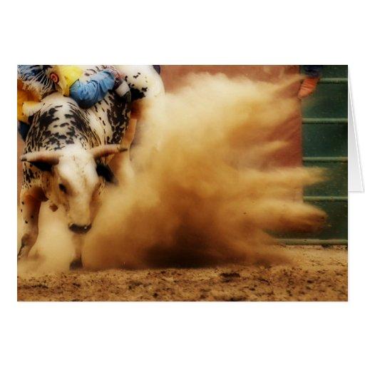 Kickin' Up Some Dust Card