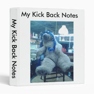 Kicking Back Notebook Binder