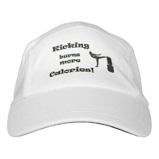 Kicking burns more Calories! Headsweats Hat