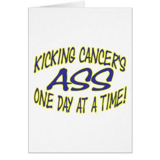 Kicking Cancer's Ass Card