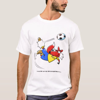 kicking fox T-Shirt